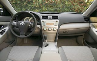 2007 Toyota Camry front seats