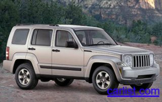2008 Jeep Liberty front view