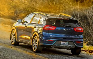 2017 Kia Niro rear view