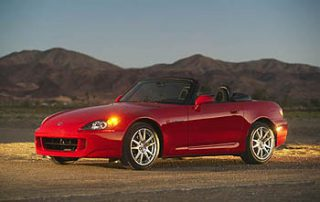 2004 Honda S2000 roadster twilight