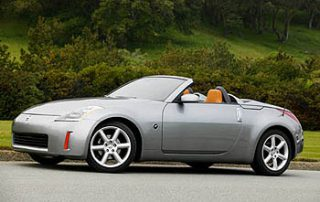 The 2004 Nissan 350Z Roadster