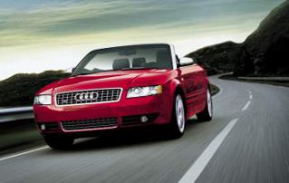 sleek and smooth Audi S4 Cabriolet