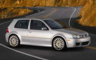 2004 VW R32 - a high performance Golf