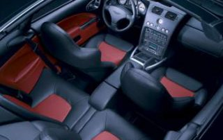 The interior of the Vanquish S