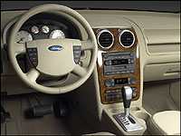 2005 Ford Freestyle insturment panel