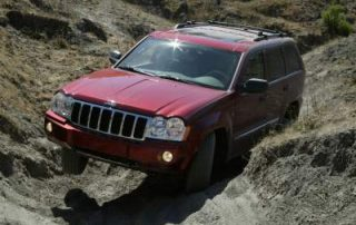 2005 Jeep Grand Cherokee with a hemi