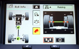 Navigation display lets you know what is going on