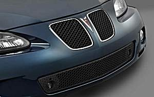 The front grille