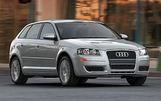 the Audi A3 3.2 are sporty two-seaters