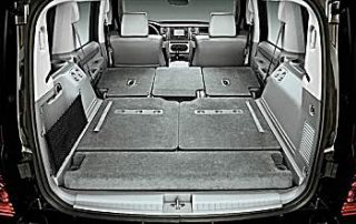 Large flat cargo space