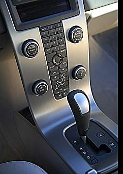 Place for your cellphone behind the console