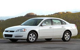 Keen new body styling on the 2006 Chevy Impala