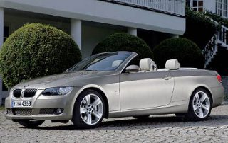 2007 BMW 3-Series Convertible side shot