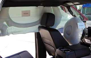 2007 Ford Expedition EL  continuous side airbags
