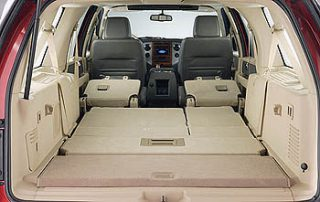 2007 Ford Expedition EL seats store flat