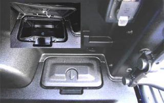 2007 Ford Explorer Sport Trac storage bed