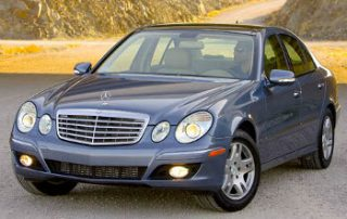 2007 Mercedes-Benz from the front