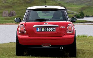 2007 MINI Cooper rear shot