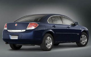 2007 Saturn Aura XR from the side