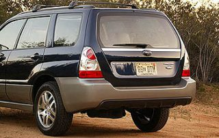 2007 Forester 2.5 X 4dr Wagon AWD