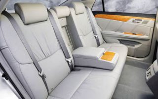 2007 Toyota Avalon back seats