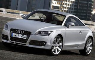 2008 Audi TT from the front