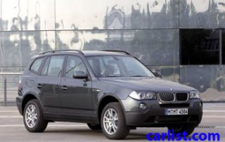 2008 BMW X3 front view