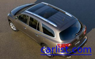 2008 Buick Enclave CUV aerial view