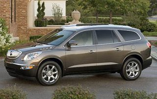 2008 Buick Enclave front view
