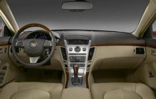 2008 Cadillac CTS with a classy interior