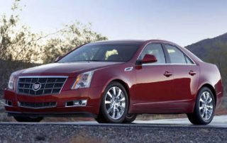 2008 Cadillac CTS front view