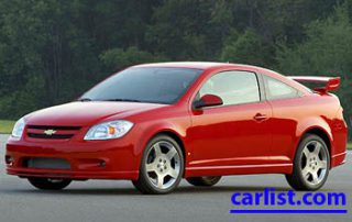 2008 Chevrolet Cobalt XFE Coupe front view