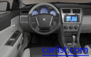 2008 Dodge Avenger SXT from the drivers view