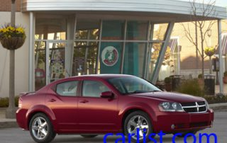 2008 Dodge Avenger SXT from the front