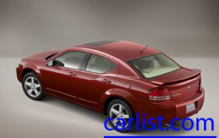2008 Dodge Avenger SXT side shot