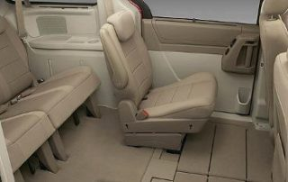 2008 Dodge Grand Caravan with the fold down seats