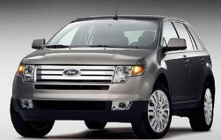 2008 Ford Edge front shot