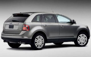 2008 Ford Edge from the side