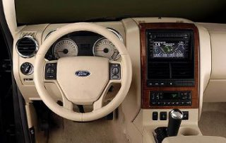 2008 Ford Explorer dashboard