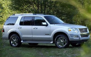 2008 Ford Explorer from the side