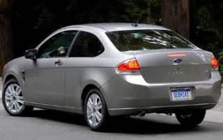 2008 Ford Focus from the side