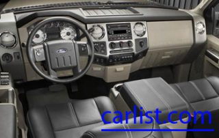 2008 Ford F-Series Super Duty interior