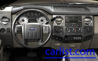 2008 Ford F-Series Super Duty command center