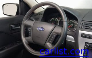 2008 Ford Fusion steering wheel