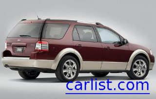 2008 Ford Taurus CUV from the side
