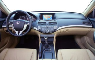 inside the Accord EX-L