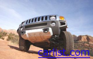 2008 Hummer H3X doing some crawling