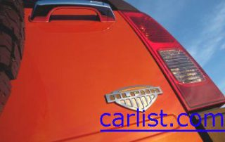 2008 Hummer H3X taillight and insignia