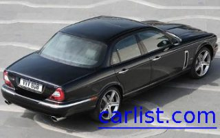 2008 Jaguar XJ black and cool