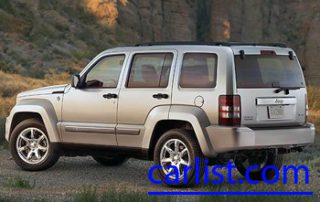 2008 Jeep Liberty from thet side